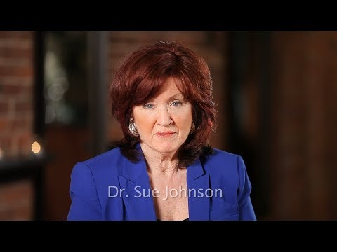 "www.drsuejohnson.com Dr. Sue Johnson talks about love, relationships and her books ""Hold Me Tight"" and ""Love Sense""."
