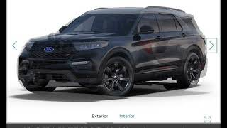 2020 Ford Explorer ST New Cars - Gower,Missouri - 2019-04-17