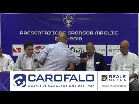 Il video della conferenza stampa della società