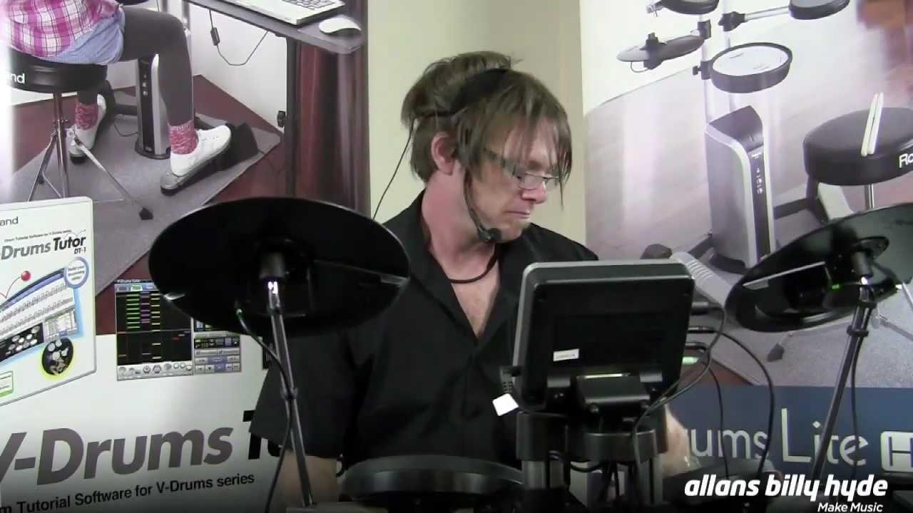 Roland hd3 v drums lite electronic drum kit youtube - Roland hd3 v drum lite set ...