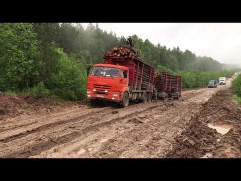 Дороги в Кировской области