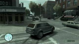GTA 4 Gameplay ( Range Rover )