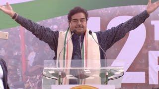 कोलकाता: ममता की रैली में शॉटगन ने BJP पर की आरोपों की बारिश