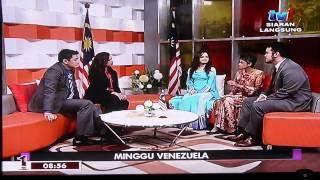 RTM TV1 interviewed Tun Maria