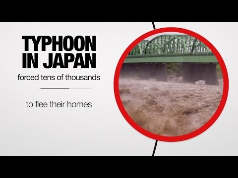 Global :60 - Typhoon hits Japan, Iran deal moves forward, and Europe helps refugees - 9/11