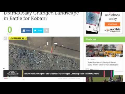 New Satellite Images Show Dramatically Changed Landscape In Battle For Kobani