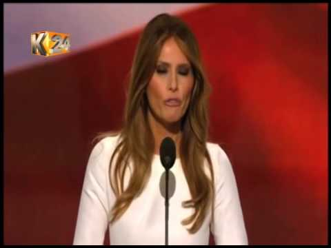 Wife of U.S Republican candidate accused of plagiarizing Michelle Obama's speech