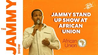 jammy's impression stand up at African Union