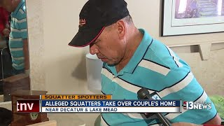 Alleged squatters take over when family is on trip