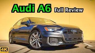 2019 Audi A6: FULL REVIEW + DRIVE   The Goldilocks Audi Sedan?