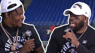 "Mark Ingram on Lamar Jackson ""That's a WILD DOG, he ain't got no shots!"""