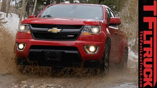 2015 Chevy Colorado Z71 Rocky Mountain Muddy & Snowy Off-Road Review