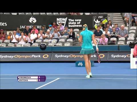 Petra Kvitova 2015 Apia International Sydney Semifinal Hot Shot