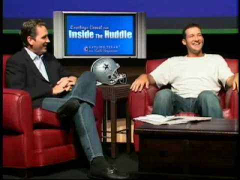 Visit us at http://www.InsideTheHuddle.com now! (Belding, Tony Romo)Tony Romo talks about his first date and attempt at his first kiss as he does his weekly ...