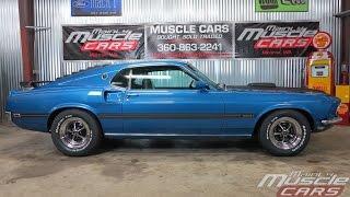 1969 Mustang Mach 1 Acapulco Blue MMC