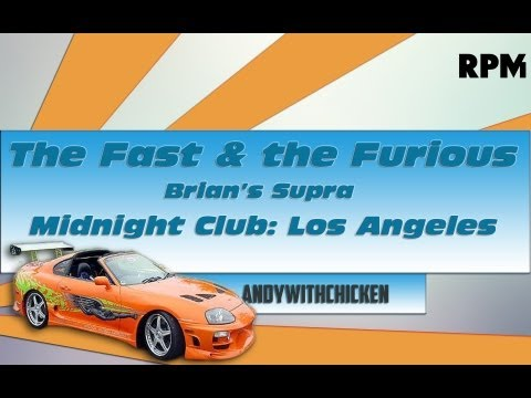 (GIVEAWAY-CLOSED) How To Make | (FULL TUTORIAL) Midnight Club L.A. | The Fast & The Furious Supra