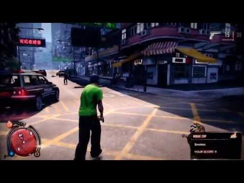 Sleeping Dogs - Infinite Health Cheat (Invincibility Glitch)