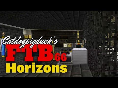 FTB Horizons - Rotarycraft, Performance Engine, Boring Machine - 066