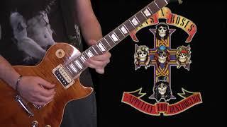 Guns N' Roses - Sweet Child O' Mine Rare Demo (solo cover)