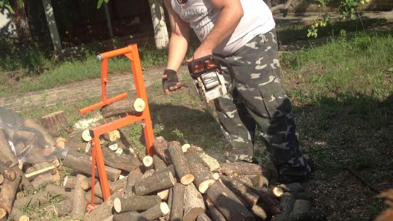 Бензопила для дров своими руками 408