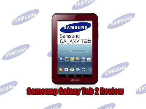 Samsung Galaxy Tab 2 7 Inch 8GB Review