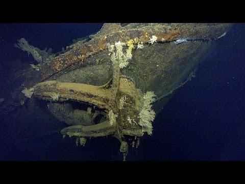 العثور على حطام أكبر سفينة حربية يابانية غرقت خلال الحرب العالمية الثانية