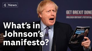 Boris Johnson's Conservative manifesto: explained | Brexit