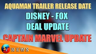 ST_NEWS #06 - Aquaman Trailer Release Date, Avengers Infinity War Collection, MCU New Face ETC.