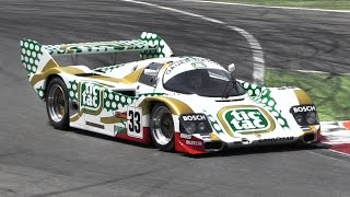 Group C Monsters Racing at Monza - Sauber C11 vs Porsche 962 vs Nissan R91 & More!!