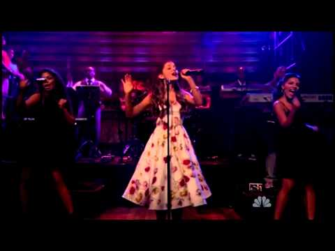 Ariana Grande Ft. Mac Miller - The Way (Live on LN/w Jimmy Fallon - 14/06/2013)