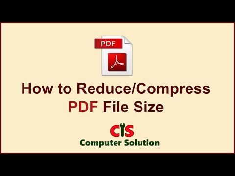 reduce pdf size online