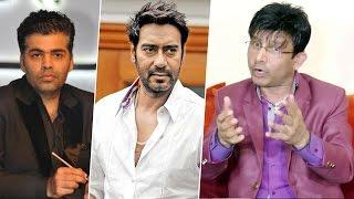 Ajay Devgn Wants To DEFAME Karan Johar - Claims KRK   Shivaay V/s ADHM Controversy