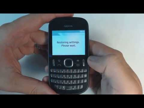 Nokia Asha 201 factory reset