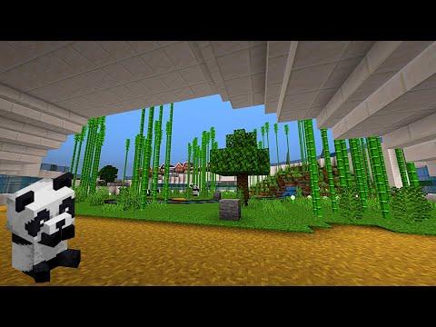 Minecraft Modernes Panda Gehege #002 | Jetzt wird Gebaut bis es Glüht