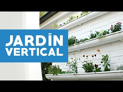 C mo hacer un jard n vertical youtube for Como hacer un jardin vertical