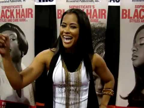 LISA WU HARTWELL Housewives of Atlanta At Sophisticates Black Hair