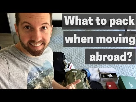 Shipping Day Philippines - 3 must haves when moving abroad