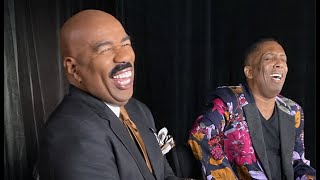 Gary With Da Tea & Steve Harvey At Tyler Perry Studios