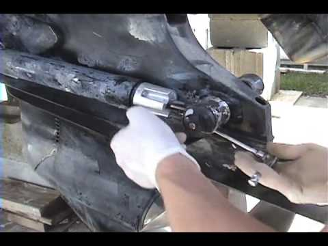 How To Replace Zinc Anodes Youtube