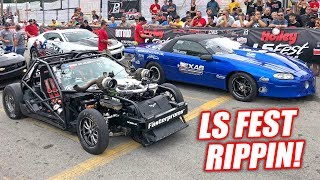 Leroy Takes on LS Fest 2018! His New Engine is INSANELY Fast!