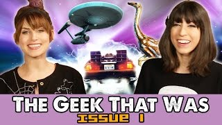 BACK TO THE FUTURE DAY & Ash Vs. Evil Dead -The Geek That Was ISSUE #1
