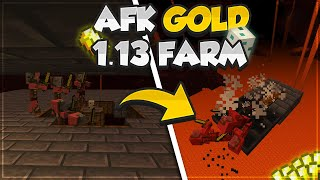 ✔️Minecraft: WORKING AFK GOLD FARM | EASY GOLD FARM [1.13] - Minecraft Aquatic Update