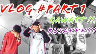 GAWAATTT!!! NGERUSAKIN MESIN PERMAINAN #VLOG PART 1