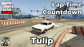 Fastest Muscle Cars (Tulip) - GTA 5 Best Fully Upgraded Cars Lap Time Countdown