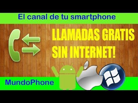 LLAMADAS GRATIS SIN INTERNET!! [MUNDOPHONE]