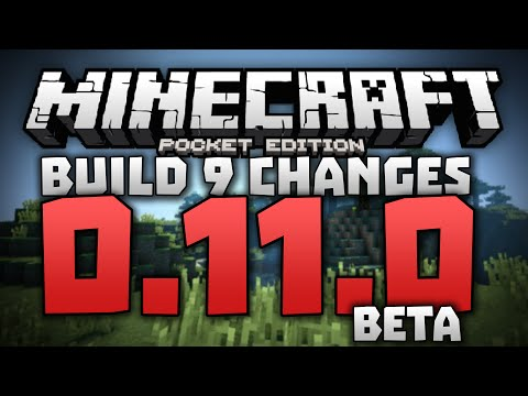 NEW WEAPON!! FISHING RODS? - 0.11.0 Alpha Build 9 Review - Minecraft PE (Pocket Edition) 0.11.0 Beta