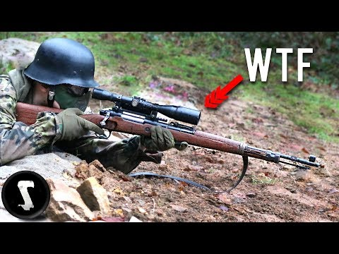 The ORIGINAL 1943 Kar98k Converted to Airsoft Gun You Will WANT.