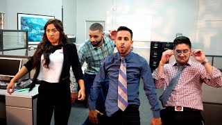 Office Dance Battle | Anwar Jibawi