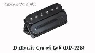 Dimarzio Crunch Lab (DP228) vs. Seymour Duncan Custom (SH-5)