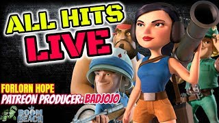 Boom Beach - ALL HITS LIVE - FORLORN HOPE! - Russian Roulette! - Produced by: Badjojo